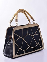 DLH ®  2014 New Ladies Fashion Shoulder Bag Handbag splicing package stereotyped package ZZ-1005