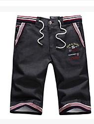 Shorts ( Schwarz , Baumwolle ) - für Freizeit - für MEN