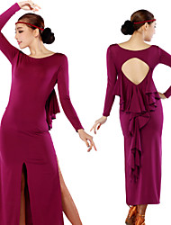 Latin Dancewear Woman's Sexy Latin Dance Dress(More Colors)