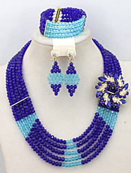 Indian Wedding Jewelry Sets Popular African Jewelry Sets 18K Hot Online