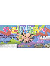 DIY Twistz Bandz  Rubber Bracelets Kits Rainbow Loom Style for Kids