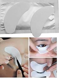 1 Pair Thin Individual False Eyelash Gel Pads Eyelash Adhesive Patches Eyelash Extension Pads Makeup Tools