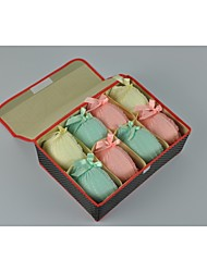 gediao boîte de rangement en sous-vêtements avec le couvercle et huit paquebots