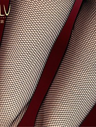 Women Sexy Nylon/Spandex Ultra - fine Fishnet Stockings