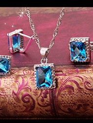 Women's Jewelry Sets Square Handmede Jewelry Sets