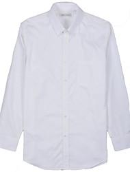 arrugas y anti dobby estática camisas blancas de los hombres
