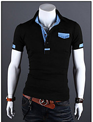 KIM Jeans Assorted Colors Slim Short Sleeve OL POLO Shirt