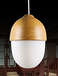 Chandeliers Mini Style Modern/Contemporary/Retro/Globe Living Room/Bedroom/Dining Room/Game Room/Hallway Wood/Bamboo
