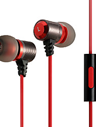 Zanmson ZE-206 Wired Mini In Ear Earphone with Stereo Mic for Iphone/Iphone plus