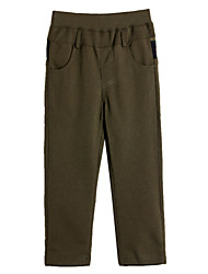 Boy's Cotton Blend Pants , All Seasons