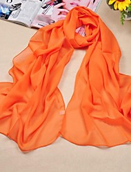 Shawls Chiffon/Polyester Solid Color Scarves(More Colors)