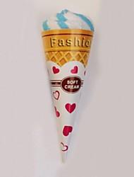 "Ice-cream Cake Shape Hand Towel,Multi-Color Terry Cotton 7.875*7.875""(Random color)"