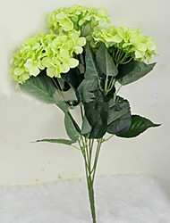 "23""H Green Hygrangeas Artifical Flowers"