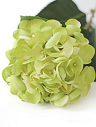 Green Mermaid Hydrangeas Artificial Flowers Set 2