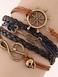 Bracelet (Alliage/Corde) Mode - pour Femme