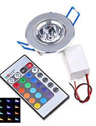 Luci da soffitto / Luci a pannello 1 Illuminazione LED integrata MORSEN Modifica per attacco al soffitto 3 W Controllo a distanza 200-250