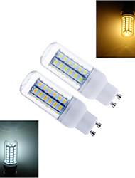15W GU10 LED лампы типа Корн T 56 SMD 5730 1344 lm Тёплый белый / Холодный белый AC 220-240 V 1 шт.