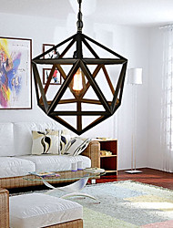 MAX 60W Rustic/Lodge / Vintage Metal Chandeliers Living Room / Bedroom / Dining Room / Study Room/Office / Hallway