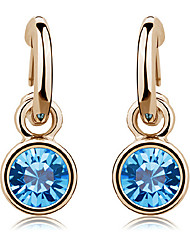 IDOO Women's Crystal Earrings