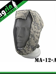 "Shooting game Face Steel ""Striker mask"" Gen3 Metal Mesh Full Face Mask"