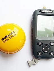 Outdoor Rechargeable Waterpoof Wireless 125kHz Sonar Echo Sounder Fish Finder Sensor