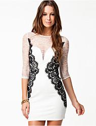 VONIWomen's Work Dresses (Cotton)