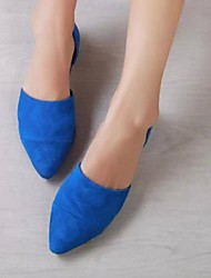 Women's Shoes Suede Flat Heel Pointed Toe Flats Office More Colors available