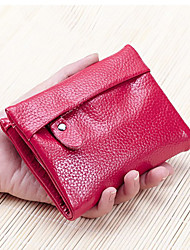 Women's  Mini Wallets Genuine Leather Coin Purse