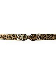 Women PU Skinny Belt , Vintage/Cute/Party/Work/Casual Alloy