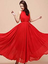 Vestidos ( Gasa )- Casual Mediano