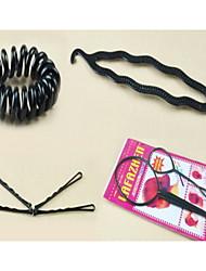 Mode-Haar-Design Styling-Tools Zubehör-Kit 6 in 1