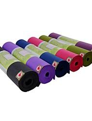 Efanna Non Slip/Extra Long/Eco Friendly/Non Toxic Yoga Mats 6 mm Red/Blue/Green/Purple/Black/Fuchsia/Lilac