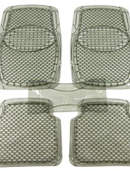conjunto completo de coche buddy® 5pcs surcado tapetes de pvc resistente, estera ajuste universal para el coche, suv, furgoneta&camiones