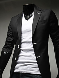 Dana Men's Casual Stand ¾ Sleeve Suits & Blazers