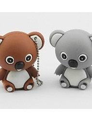 bonito modelo koala usb 2.0 memória suficiente pen drive flash de vara 1gb