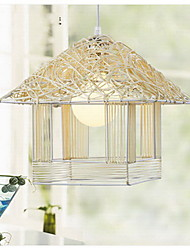 Nest Shape Pendant Light,New Rattan