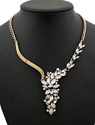 Women's Pearl set Auger Type Banches Fashion Necklace
