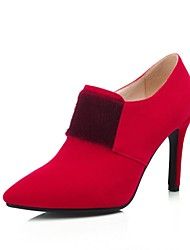 Women's Shoes Stiletto Heel Pointed Toe Pumps with Zipper Shoes More Colors available