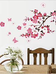 fleur de prunier sticker mural PVC amovible environnement