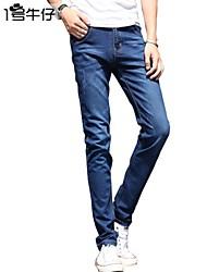 Men's Fashion Jeans,2015 New Arrival,100% Cotton,Retail Dark Vintage Jeans Pants 6015
