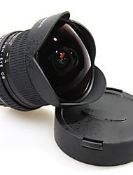 6,5 millimetri grandangolare fisheye lente full frame f3.5 APS HD ultra per canon