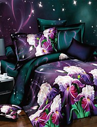 Bedding Sets Reactive Printing Bedclothes Duvet Covers Bed Sheet Linen Home Duvet Cover Bed Sheets Pillowcase