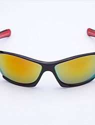 envoltório de plástico óculos de condução da forma dos homens anti-reflexo