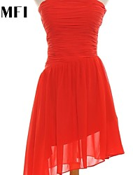 Elegant fair maiden irregular skirt dress