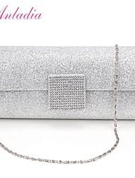 Anladia Ladies Dazzling Sparkling Wedding Bridal Clutch Prom Evening Bag Purse Handbag