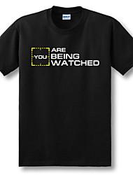 persona di interesse 2 t-shirt cosplay cotone nero