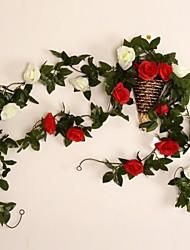 """98,4 11,4 """"l"""" h européennes roses murales de style en clôture aléatoire mur pot"""