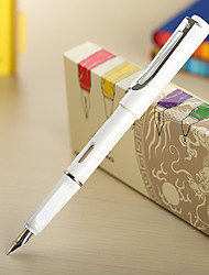 0.38mm White Fashion Business Fountain Pen