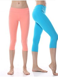 Yokaland Yoga Pants Body Shaper Classic Fit All Match Yoga Capri Pants Sports Wear