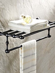 Antique Painting Wall Mounted Bathroom Shelves